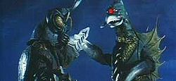 Gigan and Megalon