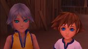 Sora and Riku 01 KHBBS