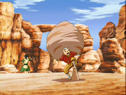 Aang training