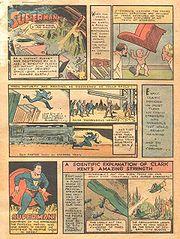 Action comics 1 pg 1