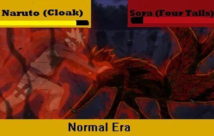 Naruto vs Sora