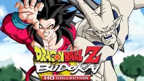 DBZ Budokai 3 HD Goku SSJ4 vs Omega Shenron (Live Commentary)