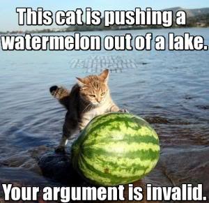 File:CatPushingaWatermelonoutofaLake.jpg