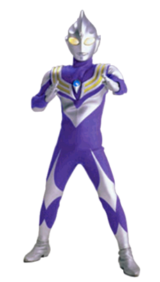 Ultraman Tiga Sky Type Render