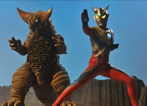 File:Ultraman Zero & Gomora.jpg