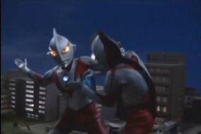 Ultraman VS Zarab 1