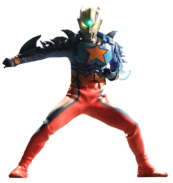 Ultraman Zero Super Form Render