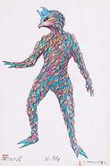 Alien Perolynga concept art