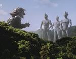 Tiga and his companions
