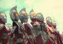 Ultrawoman Beth, Ultraman Scott, Ultraman Chuck, Ultraman Powered, Ultraman Great