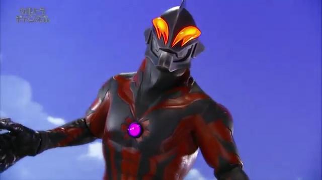 File:Belial shocked to hear an answer from Shining Ultraman Zero.jpg