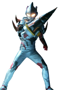 Ultraman X Denpagon Armor Render
