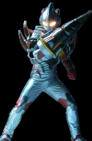 File:Ultraman X Denpagon Armor Render.png
