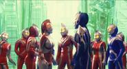 Yullian,Hikari among Ultramen