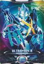 Ultraman X Ultraman X (Gomora Armor) Card