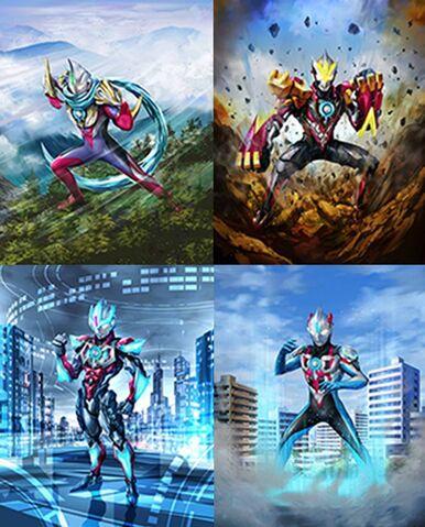 File:Ultraman Orb Fusion Forms.jpeg