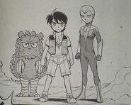 Io, Pigmon and Vittorio