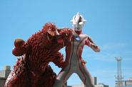 King Pandon v Ultraman Mebius
