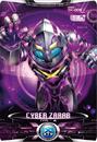 Ultraman X Cyber Zarab Card