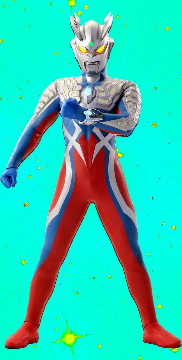 Ultraman Zero New Form Category:Ultraman Saga...