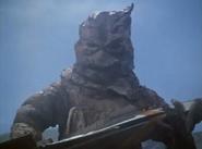 Giant Mummy Magon Holding Jet
