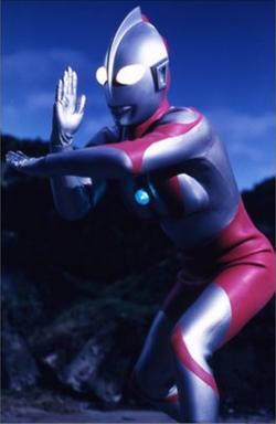Ultraman from Tiga