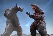 Fire Golza vs Gomora
