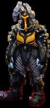 Ultraman mebius ex zetton render II