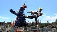 Ultraman Victory vs Vakishim