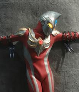 Ultraman Max crusified