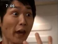Kaito shocks when Pigmon in Elly's body