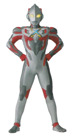 Ultraman X Render I