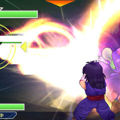 Piccolo's Special Beam Cannon in <i>Dragon Ball Z: Tenkaichi Tag Team</i>