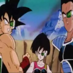 Bardock, Fasha, and Tora on Kanassa