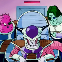 Hello everybody my name is Lord Frieza and theses are my side kicks Zarbon and Dodoria.