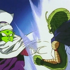 Piccolo fuses with Kami becoming the Nameless Namek!