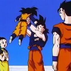 Goten!  We better get out of here before Blue returns!