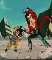 Goku fuse Vegeta