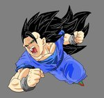 File:Dark Goku Super Saiyan 3 by Delmor.jpg