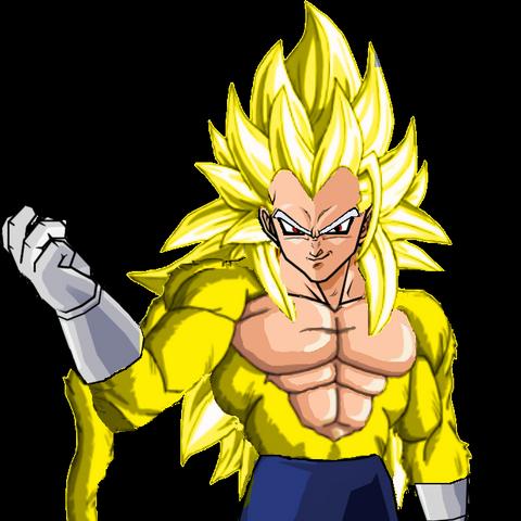 Super Saiyan 5 Vegeta