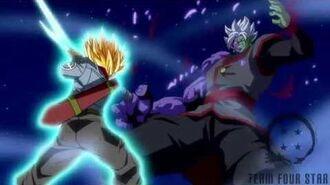 Trunks kill Zamasu Shining Finger Sword style!!-1488443352
