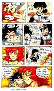 Goku born