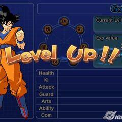 Goku levels up