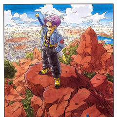 Future Trunks in his timeline