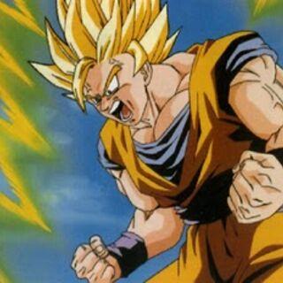 Goku surpassing Super Saiyan 2