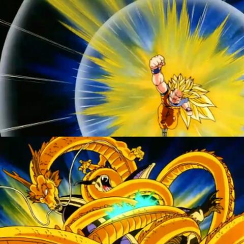 Super Saiyan 3 Dragon Fist