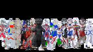 Ultrafan heroes V3