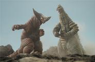 Gomora vs Red King NEO