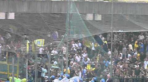 Salernitana-Verona 2011 i tifosi gialloblù