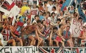 Поддержка сборной Англии